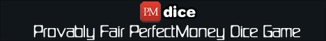 PerfectMoney Dice Game